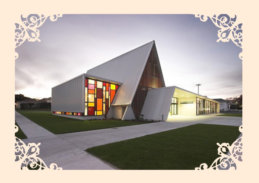 Attractive modern church designs and floor plans 4 for Modern church designs and floor plans