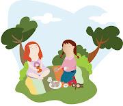 Tarde de chicas. http://www.maria-carranza.blogspot.com/ tarde de chicas
