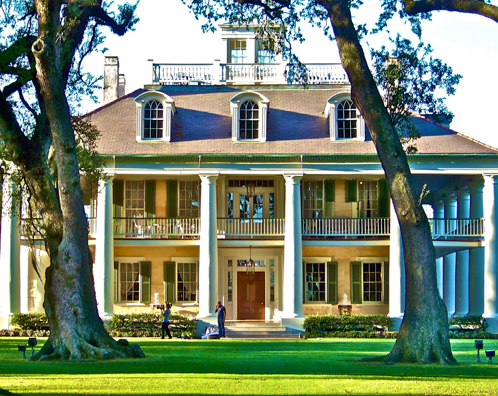 All about houses southern plantations for House plans louisiana architects