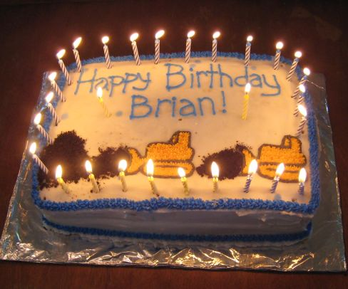 Cakes For Brian Birthday