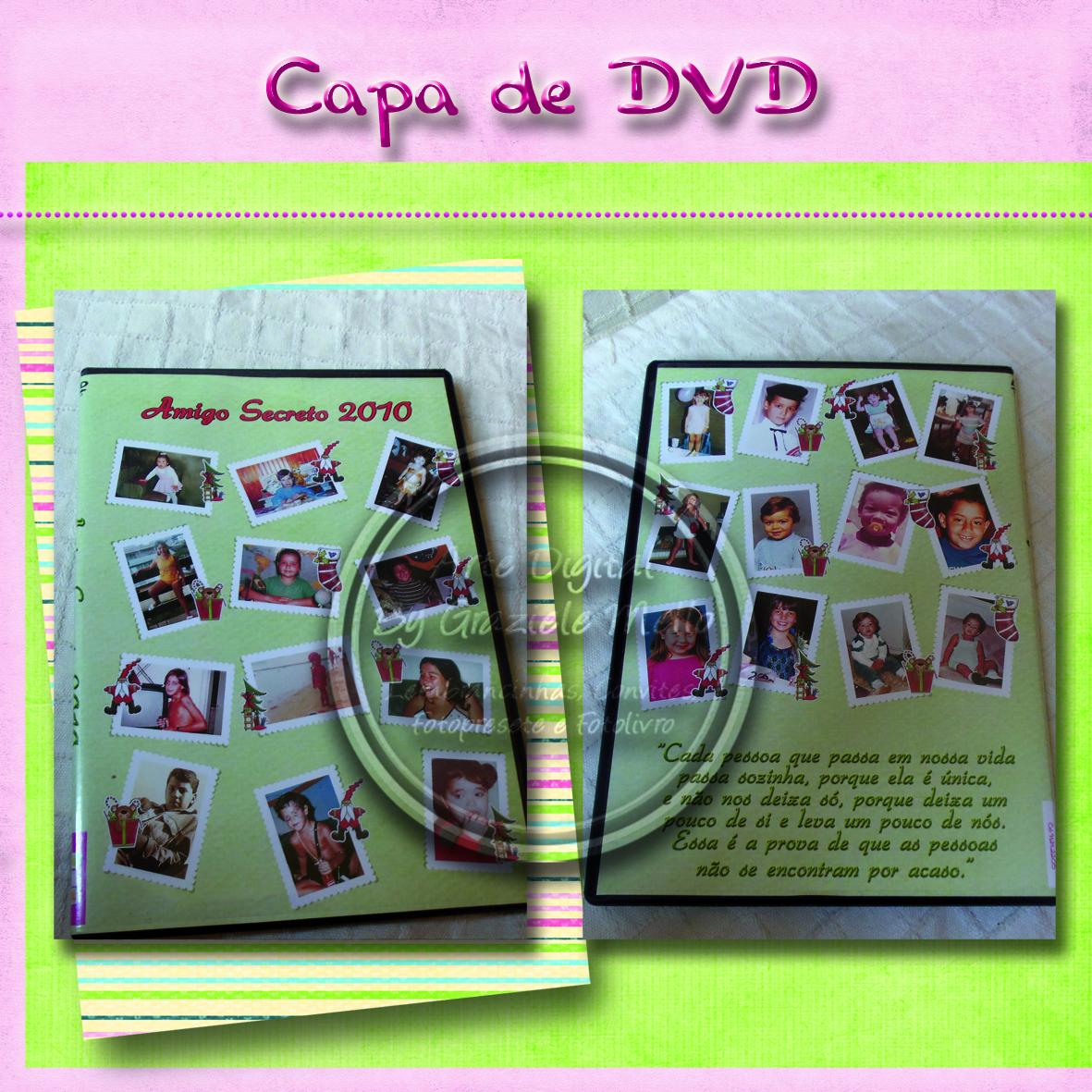 Capa De DVD Personalizada