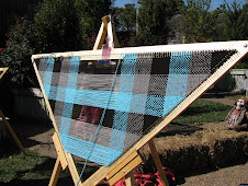 6 Ft. Tri Loom Weaving