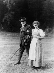 Freud e sua filha, Anna