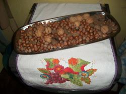 Nozes, avelãs e castanhas do Pará, a gente come sem parar!