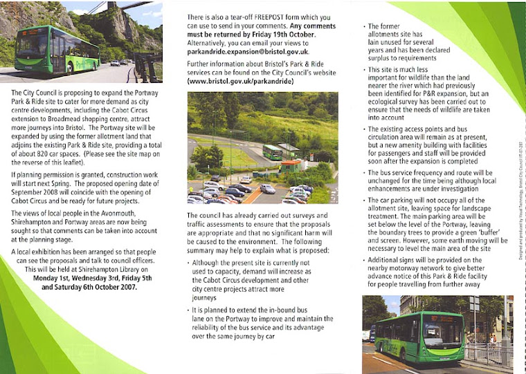 Park and Ride Leaflet Page 2
