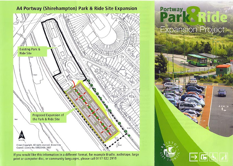 Park And Ride Leaflet Page 1