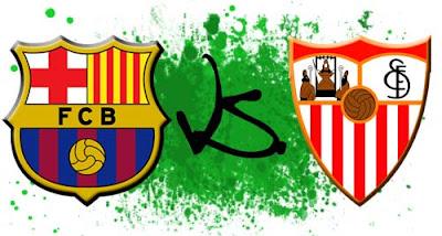 مشاهدة مباراة برشلونة واشبيلية بث مباشر 22 -11-2014 Barcelona vs Sevilla