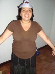 Madre a cargo de los devotitos en Concepción