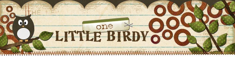 one little birdy