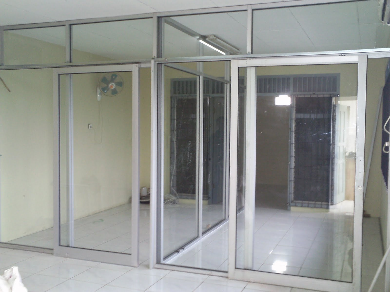 Kusen & pintu sliding aluminium