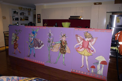Fairy/Ballerina Frieze