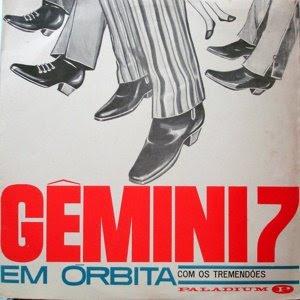 Os Tremendões Gemini 7 Em Orbita