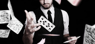The combination of hands in poker