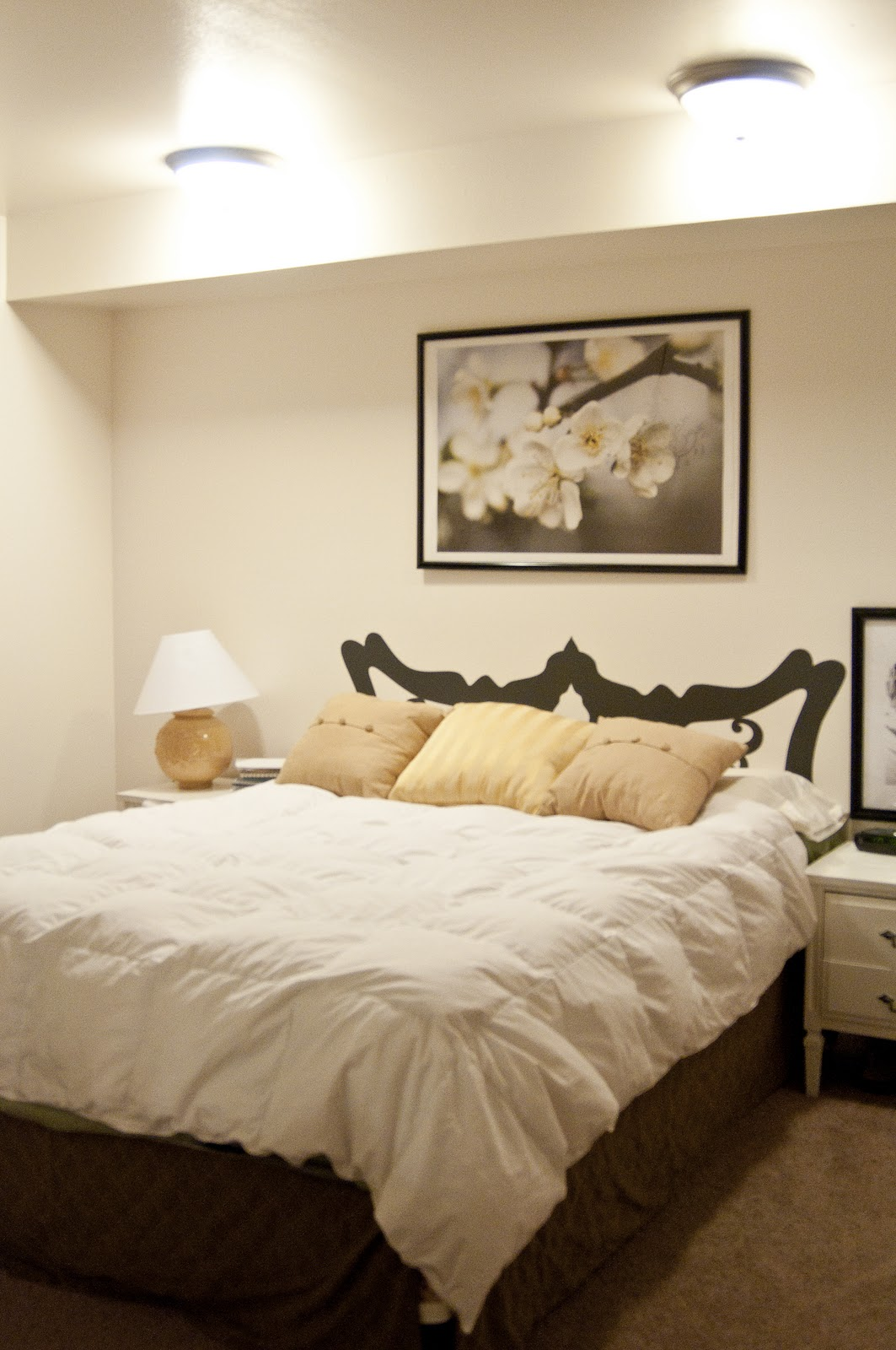 few of my favorite things master bedroom wall decal makeover