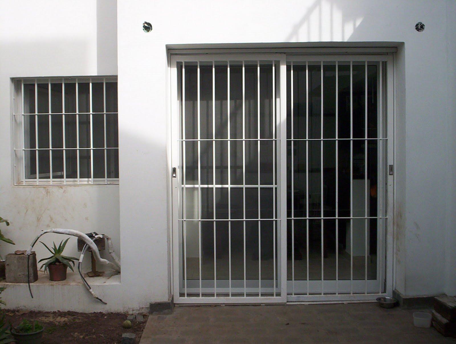 Puertas rejas portones protecciones guardas acero portal - Rejas para puertas ...