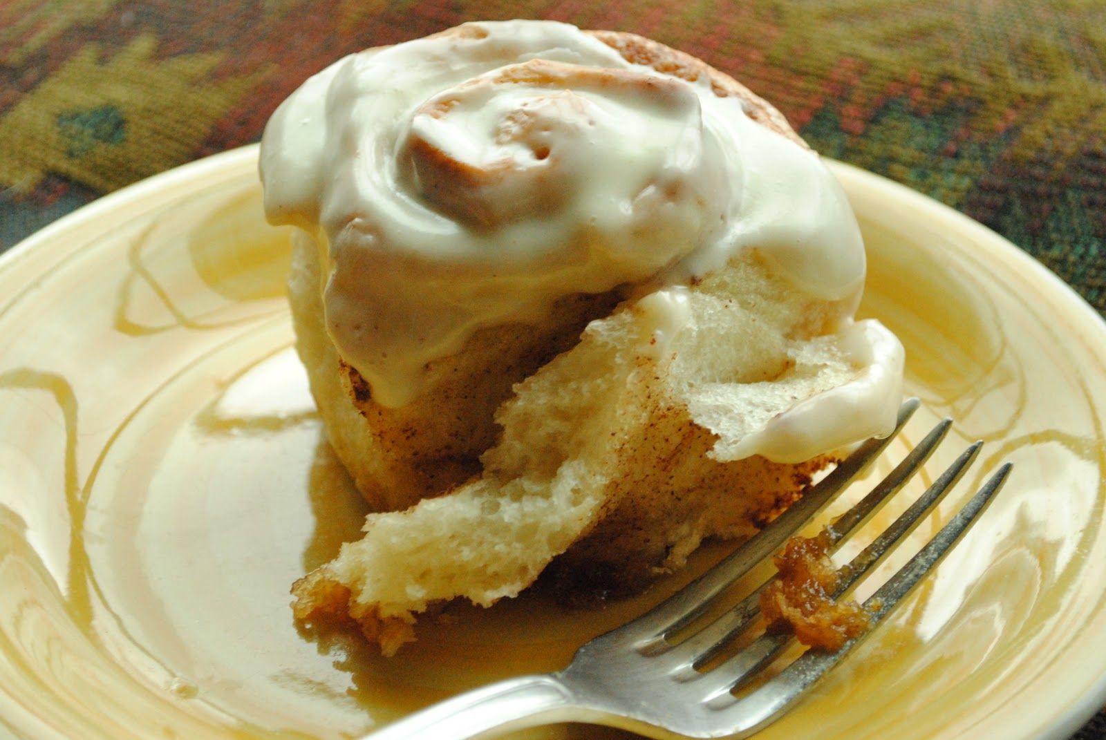 Cooke's Frontier: Refrigerator Cinnamon Rolls with Cream Cheese Icing