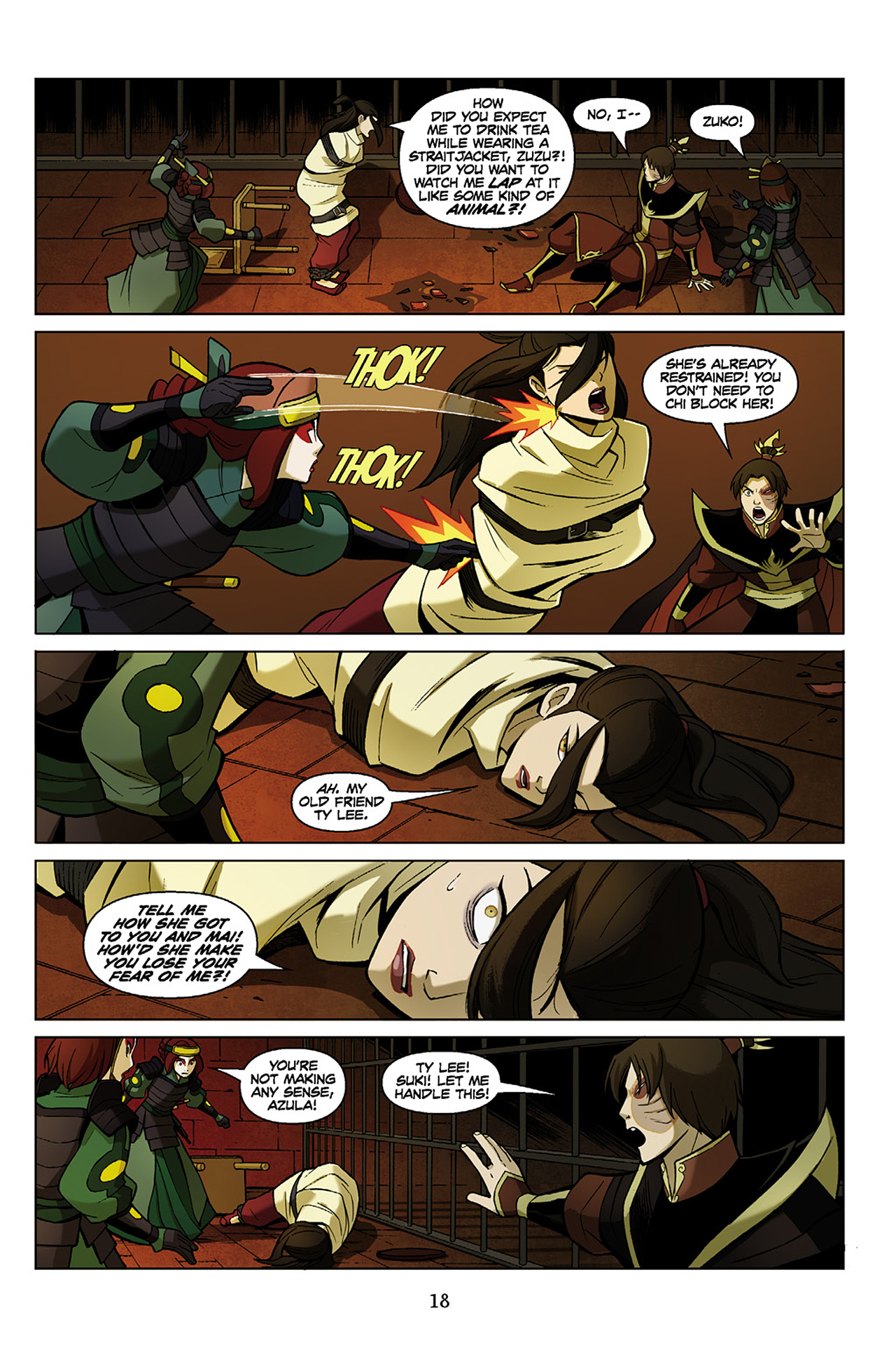 Read online Nickelodeon Avatar: The Last Airbender - The Search comic -  Issue # Part 1 - 19