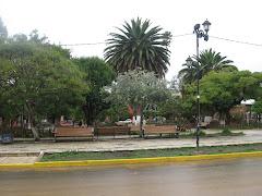 plaza principal de VALLEGRANDE
