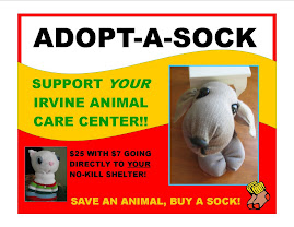 Adopt-a-Sock Help shelter pets!!