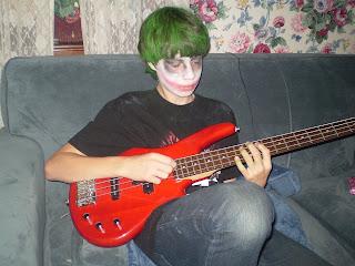 Joker on bass