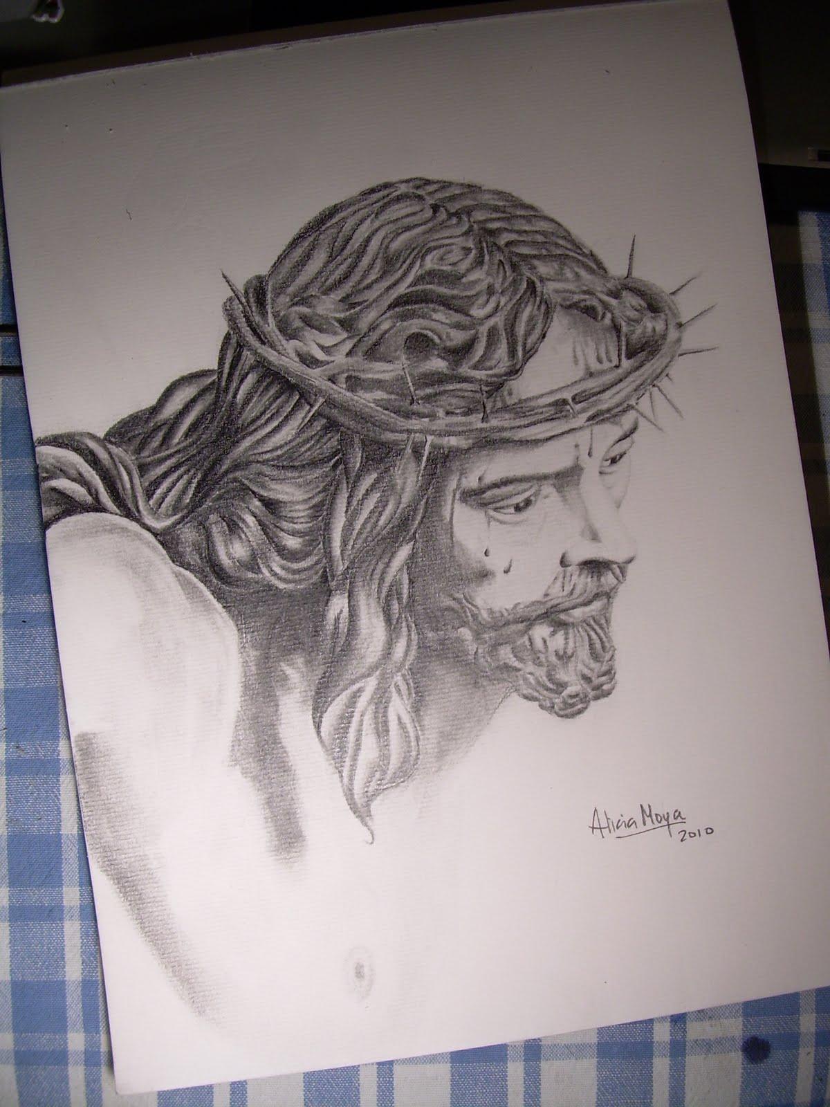 arsartis51: DIBUJO A LÁPIZ. Cristo de la Sed (Sevilla)