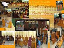 Gambar ini berkumpul bersama-sama baik Theravadha,Mahayana,Thantrayana dalam satu komunitas SAGIN