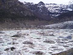Glaciar en el Tronador
