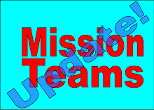 Mission Teams Update