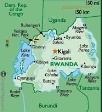 Rwanda Map: