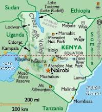 Kenya Map: