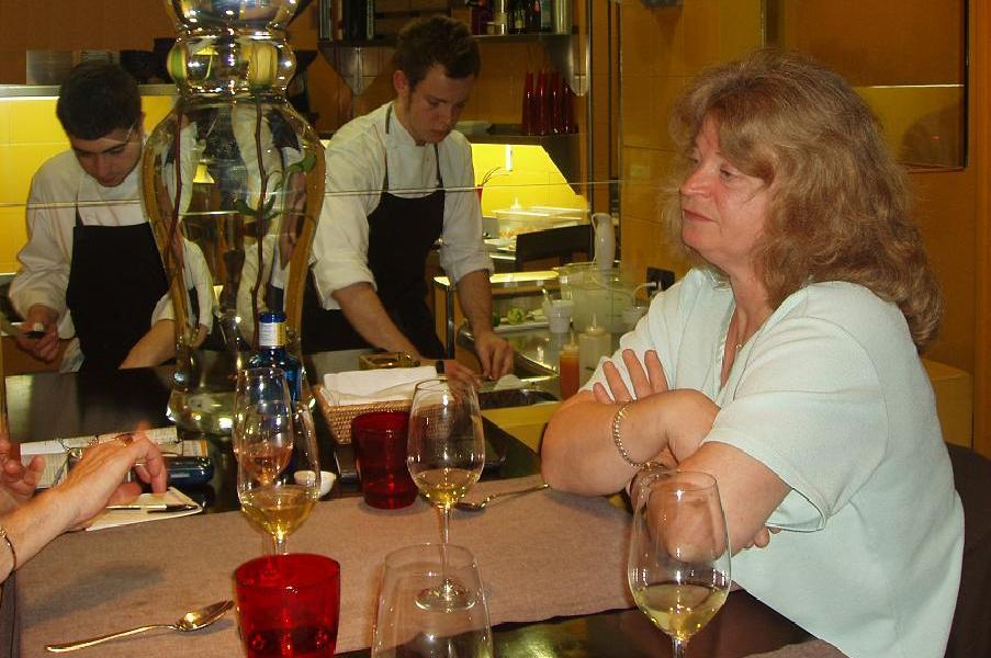 Me cooking for my mum at Comerç 24