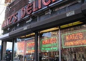 Katz's Deli on East Houston, NYC where Harry met Sally - could this be the new spiritual home of molecular gastronomy?
