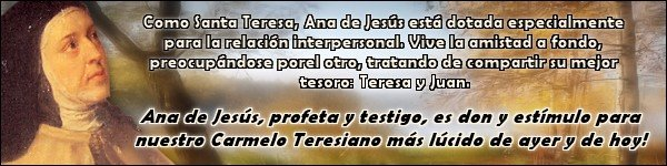 MADRE ANA DE JESUS ...