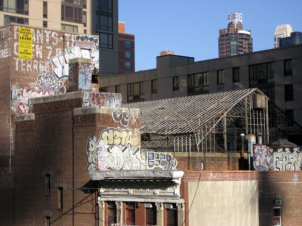 Terrestris  Tags - Former Terrestris nursery on 60th St., from the Queensboro Bridge.