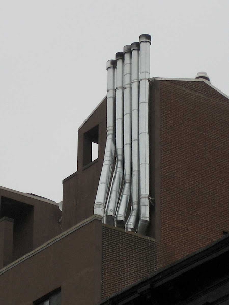 Pipe Organ Vents - Best part of a brutal building at 196 6th Ave.
