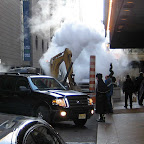 St. Regis Steam 1 - Outside the St. Regis on 55th St., off 5th Ave.