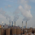 14th St. Power Plant - The power plant at the east end of 14th St., from the Williamsburg Bridge.
