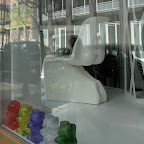 The Ass Chair - In the window of a furniture store on Wooster in Soho.