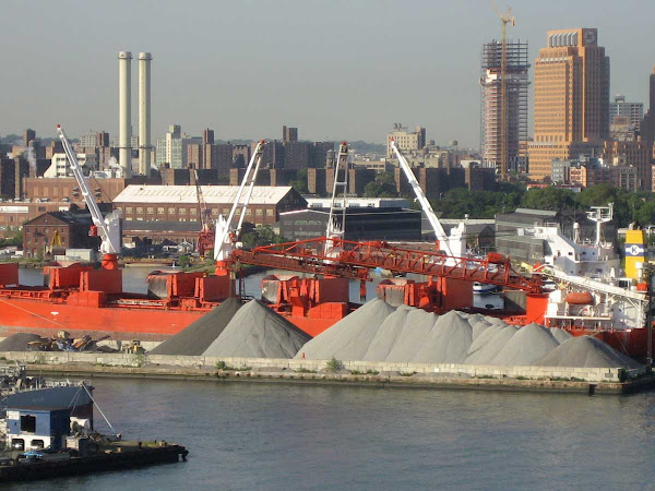 Brooklyn Navy Yard 2 - From the Williamsburg Bridge.