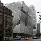 Cooper Union Construction 3 - When it was nearly done, and had assumed its final, armored elephant form.