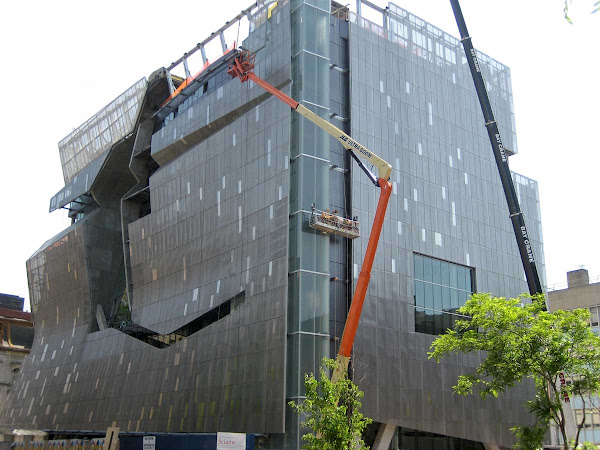 Cooper Union Construction 2 - When crane and crevice formed a scythe.