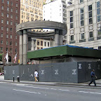 Druid Ring - During construction at 57th St. & Lexington Ave.