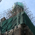 Green Grid Top - During construction high above Lexington at 48th St.