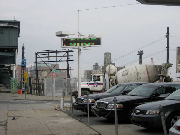 Shop - On Queens Blvd. at the LIRR tracks.
