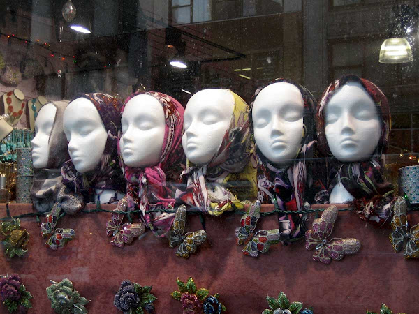 Sleepyheads - Used to be in the window at Silver & Crystal Collection on 5th Ave.