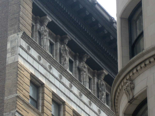 Holding Up the Roof - On 15 West 28th St., built in 1896.