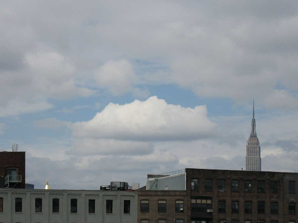 Lone Cloud - From across the East River.