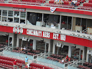 We went to a Reds Baseball game! It was really hot and we lost, .