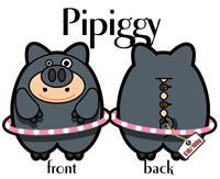 PIPIGGY  小豬皮皮(女仔)