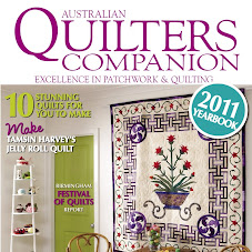 i'm featured in Quilters Companion magazine